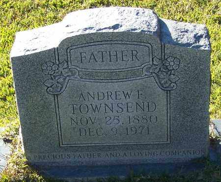 TOWNSEND, ANDREW F - Marion County, Mississippi   ANDREW F TOWNSEND - Mississippi Gravestone Photos