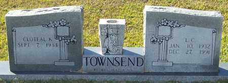 TOWNSEND, L C - Marion County, Mississippi | L C TOWNSEND - Mississippi Gravestone Photos