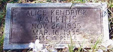 WALKINS, ALICE - Marion County, Mississippi | ALICE WALKINS - Mississippi Gravestone Photos