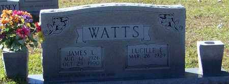 WATTS, JAMES L - Marion County, Mississippi | JAMES L WATTS - Mississippi Gravestone Photos