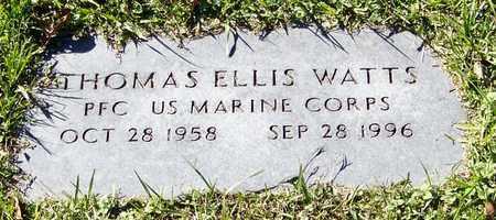 WATTS (VETERAN), THOMAS ELLIS - Marion County, Mississippi | THOMAS ELLIS WATTS (VETERAN) - Mississippi Gravestone Photos