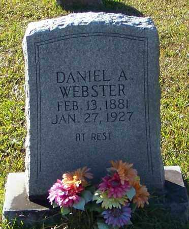 WEBSTER, DANIEL A - Marion County, Mississippi | DANIEL A WEBSTER - Mississippi Gravestone Photos
