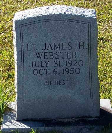 WEBSTER, JAMES H LT - Marion County, Mississippi   JAMES H LT WEBSTER - Mississippi Gravestone Photos