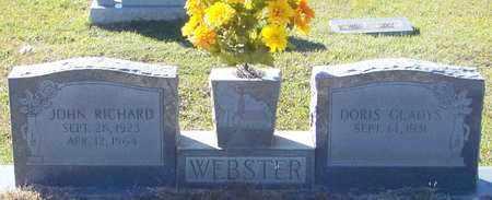 WEBSTER, JOHN RICHARD - Marion County, Mississippi | JOHN RICHARD WEBSTER - Mississippi Gravestone Photos