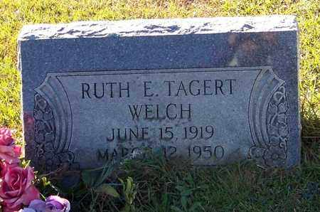 WELCH, RUTH E - Marion County, Mississippi | RUTH E WELCH - Mississippi Gravestone Photos