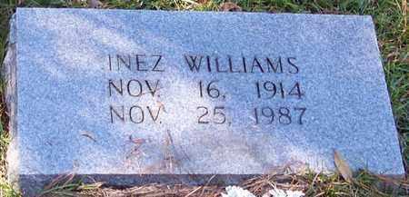 WILLIAMS, INEZ - Marion County, Mississippi | INEZ WILLIAMS - Mississippi Gravestone Photos