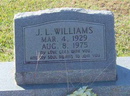 WILLIAMS, J L - Marion County, Mississippi | J L WILLIAMS - Mississippi Gravestone Photos