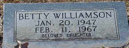 WILLIAMSON, BETTY - Marion County, Mississippi | BETTY WILLIAMSON - Mississippi Gravestone Photos