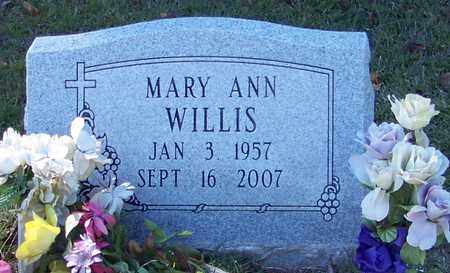 WILLIS, MARY ANN - Marion County, Mississippi | MARY ANN WILLIS - Mississippi Gravestone Photos