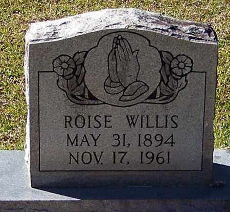 WILLIS, ROISE - Marion County, Mississippi | ROISE WILLIS - Mississippi Gravestone Photos
