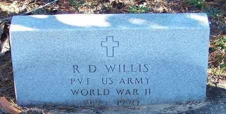 WILLIS (VETERAN WWII), R D - Marion County, Mississippi | R D WILLIS (VETERAN WWII) - Mississippi Gravestone Photos