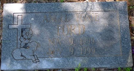 FORD, ANGEL TONIE - Marshall County, Mississippi | ANGEL TONIE FORD - Mississippi Gravestone Photos