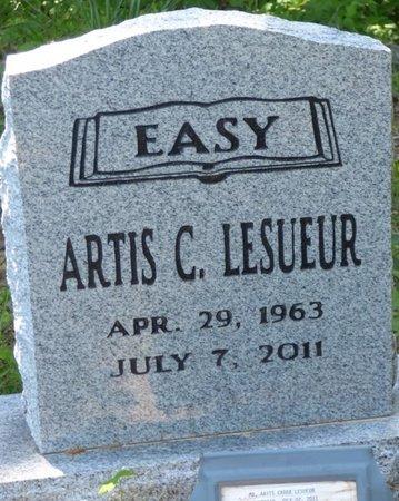 LESUEUR, ARTIS C - Marshall County, Mississippi   ARTIS C LESUEUR - Mississippi Gravestone Photos