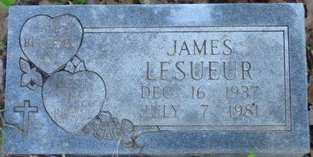 LESUEUR, JAMES - Marshall County, Mississippi | JAMES LESUEUR - Mississippi Gravestone Photos