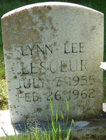 LESUEUR, LYNN LEE - Marshall County, Mississippi | LYNN LEE LESUEUR - Mississippi Gravestone Photos