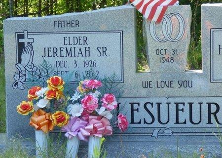 LESUEUR, SR., JEREMIAH - Marshall County, Mississippi | JEREMIAH LESUEUR, SR. - Mississippi Gravestone Photos