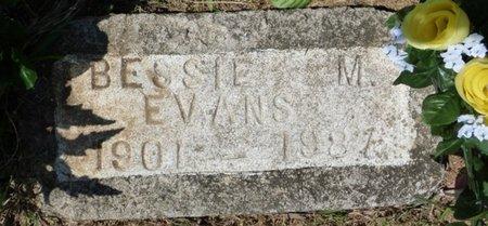 EVANS, BESSIE M - Panola County, Mississippi   BESSIE M EVANS - Mississippi Gravestone Photos