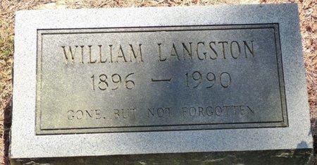 LANGSTON, WILLIAM - Panola County, Mississippi   WILLIAM LANGSTON - Mississippi Gravestone Photos
