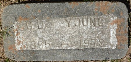 YOUNG, G.D. - Panola County, Mississippi | G.D. YOUNG - Mississippi Gravestone Photos