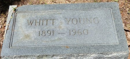 YOUNG, WHITT - Panola County, Mississippi | WHITT YOUNG - Mississippi Gravestone Photos