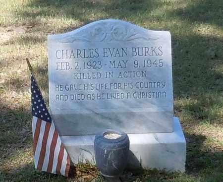 BURKS, CHARLES EVAN - Pearl River County, Mississippi | CHARLES EVAN BURKS - Mississippi Gravestone Photos