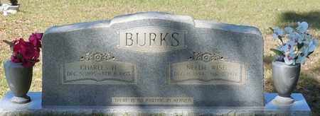 BURKS, CHARLES HARVEY - Pearl River County, Mississippi | CHARLES HARVEY BURKS - Mississippi Gravestone Photos