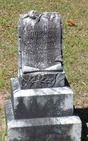 BURKS, CLARA NELL - Pearl River County, Mississippi   CLARA NELL BURKS - Mississippi Gravestone Photos