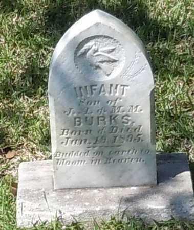 BURKS, INFANT - Pearl River County, Mississippi | INFANT BURKS - Mississippi Gravestone Photos