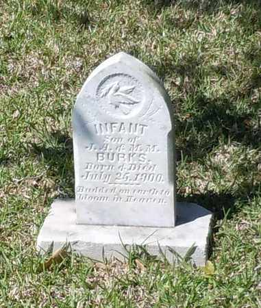 BURKS, INFANT - Pearl River County, Mississippi | INFANT BURKS - Mississippi Gravestone Photos