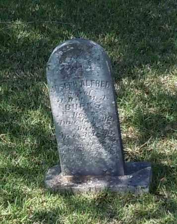 BURKS, JOSEPH ALFRED - Pearl River County, Mississippi | JOSEPH ALFRED BURKS - Mississippi Gravestone Photos