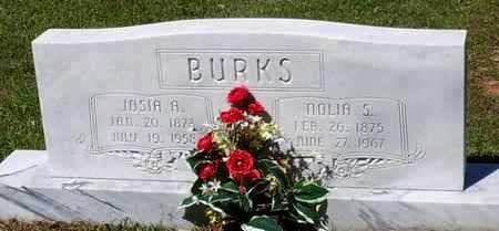 "BURKS, MARGARET MAGNOLIA ""NOLIA"" - Pearl River County, Mississippi   MARGARET MAGNOLIA ""NOLIA"" BURKS - Mississippi Gravestone Photos"