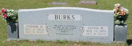 BURKS, JOHNNIE H - Pearl River County, Mississippi | JOHNNIE H BURKS - Mississippi Gravestone Photos
