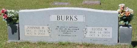 BURKS, ELOISE W - Pearl River County, Mississippi | ELOISE W BURKS - Mississippi Gravestone Photos