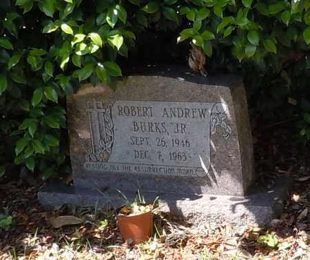 BURKS, ROBERT ANDREW JR - Pearl River County, Mississippi | ROBERT ANDREW JR BURKS - Mississippi Gravestone Photos