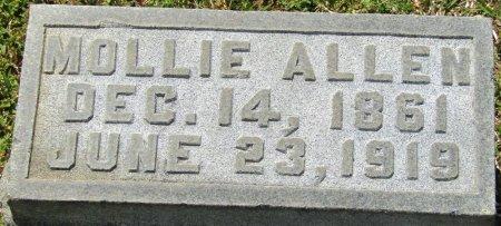 PLAXCO ALLEN, MOLLIE - Prentiss County, Mississippi   MOLLIE PLAXCO ALLEN - Mississippi Gravestone Photos