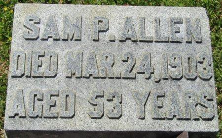 ALLEN, SAM P - Prentiss County, Mississippi | SAM P ALLEN - Mississippi Gravestone Photos