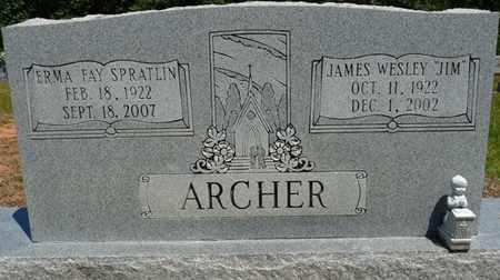 "ARCHER, JAMES WESLEY ""JIM"" - Prentiss County, Mississippi | JAMES WESLEY ""JIM"" ARCHER - Mississippi Gravestone Photos"