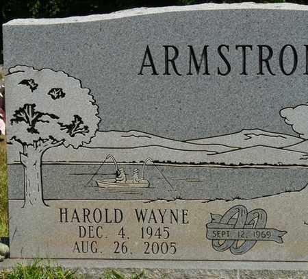 ARMSTRONG, HAROLD WAYNE - Prentiss County, Mississippi | HAROLD WAYNE ARMSTRONG - Mississippi Gravestone Photos