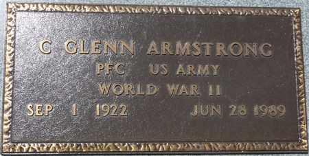 ARMSTRONG (VETERAN WWII), C GLENN - Prentiss County, Mississippi | C GLENN ARMSTRONG (VETERAN WWII) - Mississippi Gravestone Photos