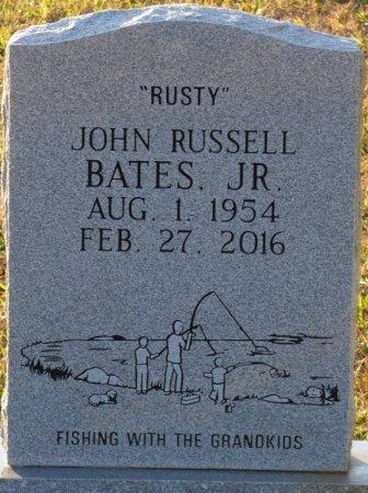"BATES, JR, JOHN RUSSELL ""RUSTY"" - Prentiss County, Mississippi   JOHN RUSSELL ""RUSTY"" BATES, JR - Mississippi Gravestone Photos"