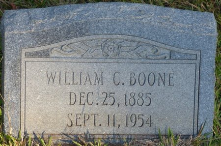 BOONE, WILLIAM C - Prentiss County, Mississippi | WILLIAM C BOONE - Mississippi Gravestone Photos