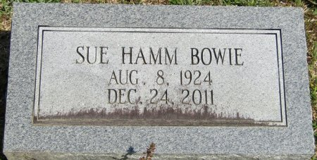HAMM BOWIE, MARJORIE SUE - Prentiss County, Mississippi   MARJORIE SUE HAMM BOWIE - Mississippi Gravestone Photos