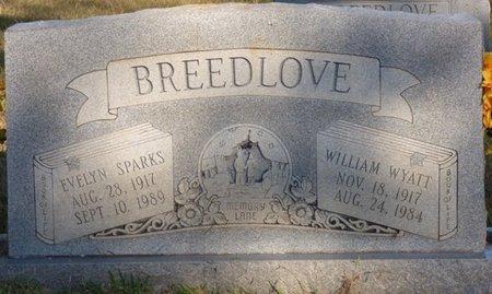 SPARKS BREEDLOVE, EVELYN - Prentiss County, Mississippi | EVELYN SPARKS BREEDLOVE - Mississippi Gravestone Photos