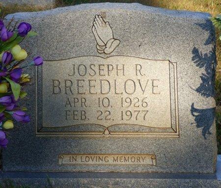 BREEDLOVE, JOSEPH R - Prentiss County, Mississippi | JOSEPH R BREEDLOVE - Mississippi Gravestone Photos