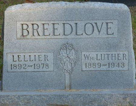 BREEDLOVE, LELLIER - Prentiss County, Mississippi | LELLIER BREEDLOVE - Mississippi Gravestone Photos