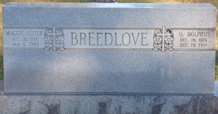 BREEDLOVE, MAGGIE - Prentiss County, Mississippi   MAGGIE BREEDLOVE - Mississippi Gravestone Photos