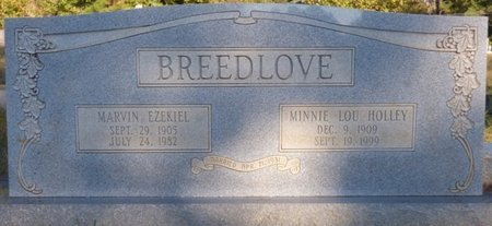 HOLLEY BREEDLOVE, MINNIE LOU - Prentiss County, Mississippi | MINNIE LOU HOLLEY BREEDLOVE - Mississippi Gravestone Photos