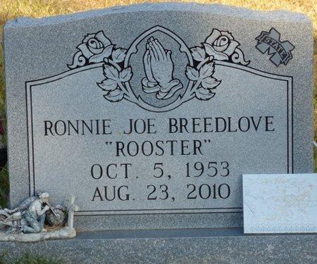 "BREEDLOVE, RONNIE JO ""ROOSTER"" - Prentiss County, Mississippi | RONNIE JO ""ROOSTER"" BREEDLOVE - Mississippi Gravestone Photos"