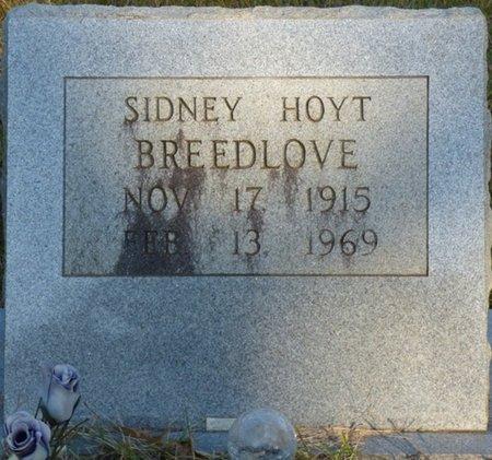 BREEDLOVE, SIDNEY HOYT - Prentiss County, Mississippi | SIDNEY HOYT BREEDLOVE - Mississippi Gravestone Photos