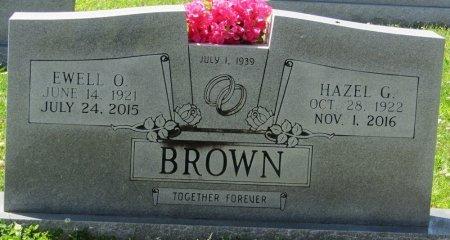 GREEN BROWN, HAZEL MOZEL - Prentiss County, Mississippi | HAZEL MOZEL GREEN BROWN - Mississippi Gravestone Photos